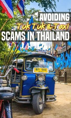 As embarrassing as it is to admit, we've fallen for several of the infamous tuk tuk and taxi scams in Thailand. Don't get caught up in them like we did!