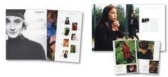 Mise en page du catalogue de prêt à porter Cacharel par l'Atelier Vauban graphiste à Nimes