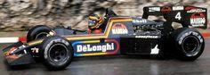 Tyrrell 012 con el talentoso Stefan Bellof al volante en Monaco 84 acabando 3º, sin embargo el equipo sería descalificado y excluido del campeonato y tanto él como Martin Brundle perderian los puntos conseguidos   Fuente: StatsF1