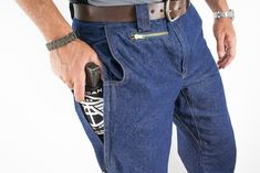 "When he worked vice years ago, Houston police officer Brian Hoffner recalls, he concealed his weapon by strapping it to his thigh with an ACE bandage.  American Tactical Apparel is a ""covert fashion"" line launched by Hoffner that sells clothes for a growing market: the fashion-conscious carrier of concealed handguns.  In Texas, to get a concealed handgun license, an applicant must be 21 years old, pass a background check and take a 10-hour course that requires a shooting test and written…"