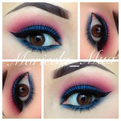 .@maricela_mua | Hey IGers!!! Heres another eye look!! I did this the other day but forgot to... | Webstagram - the best Instagram viewer