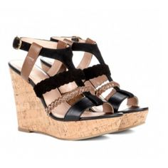 Serina wedge in black by sole society  from ILoveCuteShoes.com
