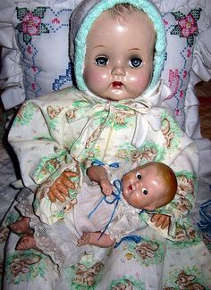 This face looks like my baby doll from Nancy Ann.
