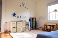 Ideas Montessori para decorar una habitación infantil. Colorfool