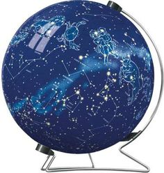 Celestial Map with Stand (Puzzleball) (RB11205-0), a 540 piece jigsaw puzzle by Ravensburger.