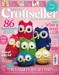 Crochet Magazine Subscription Australia : Craftseller Magazine Issue 25 Craftseller Magazine, Issue 25, is hot ...