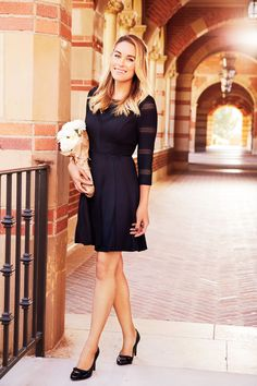 LC Lauren Conrad for Kohl's Textured Fit & Flare Dress
