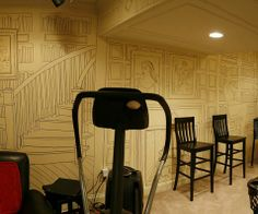 Man Covers Entire Basement in Incredible Sharpie Art