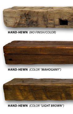 Reclaimed Fireplace Mantel | Rustic Fireplace Mantels | Ohio Mantel