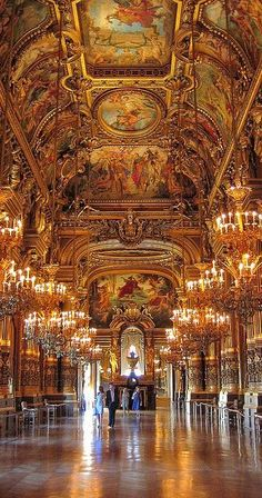 Opera Garnier in Parijs