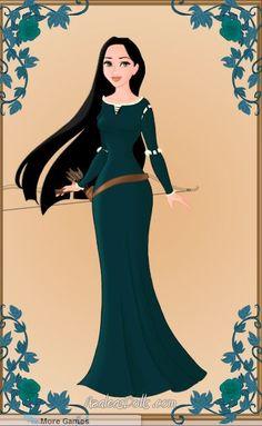 Pocahontas As Merida by WeavingMaiden