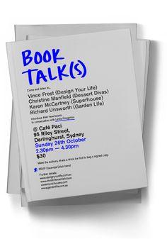 Email invite: Book Talk(s)