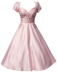 Awww, princess dress! Also available in pale blue, white and mint green