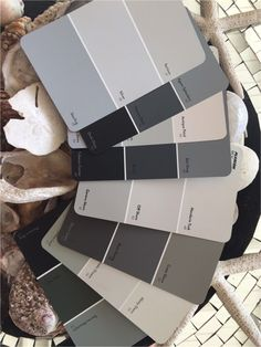 The Essential Collection from Plascon http://plascontrends.co.za/grey-paint-colours-interiors/ #Plascon
