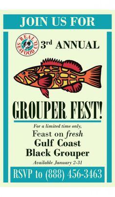 Grouper Fest! Seafood Company, Naples