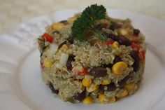 Southwest Vegetarian Quinoa Salad | Food is my Love Language