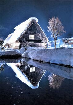 This is a beautiful place and the photo is awesome. pearlriverworld #snow #winter