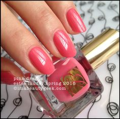 Estee Lauder Pure Color.            Spring 2015 Collection.              'Pink Dragon'