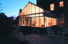 Beautiful when lit up in the evening. #sunrooms