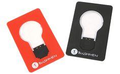 Lampcard – lampka wielkości karty kredytowej