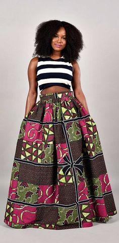 African Print- Maxi Skirt. Clearance Ribbon Maxi Skirt African print -skirt. Ankara | Dutch wax | Kente | Kitenge | Dashiki | African print bomber jacket | African fashion | Ankara bomber jacket | African prints | Nigerian style | Ghanaian fashion | Senegal fashion | Kenya fashion | Nigerian fashion | Ankara crop top (affiliate)