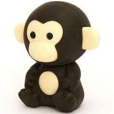 dark brown monkey eraser by Iwako from Japan Iwako http://www.amazon.com/dp/B0065K9SCA/ref=cm_sw_r_pi_dp_vLONtb0FRC24YS1Q