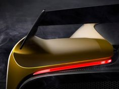 Fittipaldi EF7 Vision Gran Turismo by Pininfarina teaser - from the gallery: Automotive Exteriors - Shapes