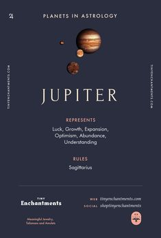 Jupiter Sign in Astr