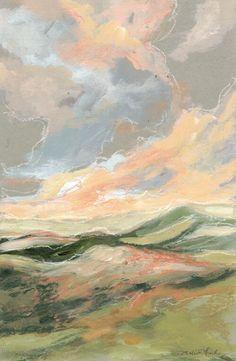 Landscape Paintings on Wood — Melissa Ellen Fink Art