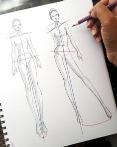 Fashion Sketchbook Drawings Inspiration 36 Ideas Source by fashion drawing Dress Design Drawing, Dress Design Sketches, Fashion Design Sketchbook, Fashion Design Drawings, Fashion Illustration Poses, Fashion Illustration Template, Illustration Mode, Fashion Illustrations, Fashion Drawing Tutorial