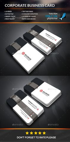 Creative Business Card Template #design Download: http://graphicriver.net/item/creative-business-card/12520151?ref=ksioks