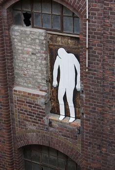Artist :Daan Botlek #streetart #ArtOrNot #Kunst