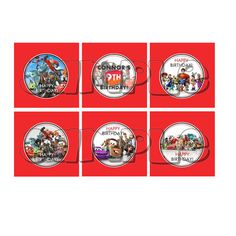 Disney Infinity Cupcake Toppers/ Party by PreciousPartyInvites, $4.00