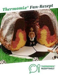 Deutschland-Kuchen von Nicki304. Ein Thermomix ® Rezept aus der Kategorie Backen süß auf www.rezeptwelt.de, der Thermomix ® Community. Crochet Hats, Yummy Food, Muffin, Thanksgiving, Sweets, Baking, Drinks, Kitchens, Finger Food