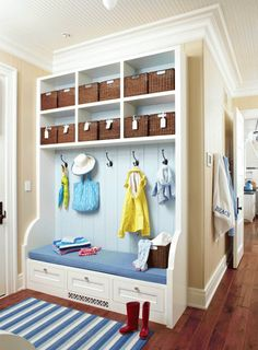 No matter where you put containers—in cubbies, on shelves, under furniture—they store tons of stuff while adding charm to your decor. Here are 20 ways to use them.