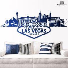 Wandtattoos Las Vegas-Skyline