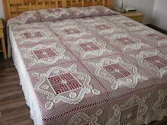 Crochet Knitting Handicraft: bedspread