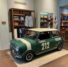Id go shopping anywhere there was a mini Owner- - Mini Cooper Classic, Mini Cooper S, Classic Mini, Austin Mini, Mini Uk, Mini Morris, Fiat 500, Morris Minor, Roadster