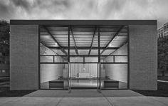 Robert F. Carr Memorial Chapel of St. Savior, IIT  1949-1952   Chicago, Illinois   Mies van der Rohe   photo by Mike Schwartz