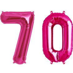 70th Birthday, Balloons, Pink, Balloon Ideas, Outdoor Decor, Decoration, Products, Party, Knots