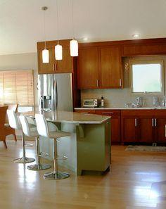 Craftsman style kitchen kustom home design pinterest for Kustom kitchens