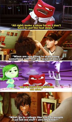 Big Hero 6 and Inside Out