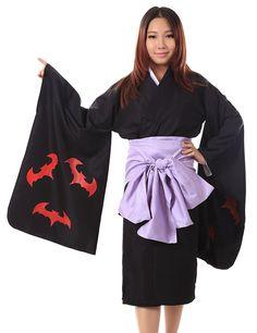 SDWKIT Japanese Manga Kamiyomi Cosplay Costume Mikaduki Kimono V1 Set Kid L >>> Details can be found by clicking on the image.