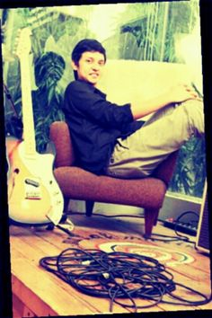 Iga Massardi (indonesia guitarist) played in Tika and Dissident & SOULVIBE, former of guitarist The Trees and The Wild