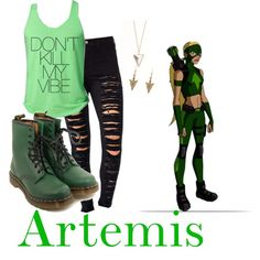 """Artemis - Young Justice"" by roishey on Polyvore"