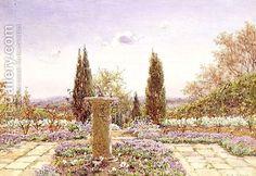 Sundial at Rusthall, Tunbridge Wells by Ernest Arthur Rowe