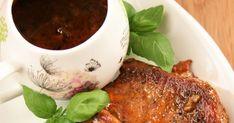 Mięso schabowe robię nie tylko tradycyjnie, w panierce, ale też często je duszę w sosie. To łatwy i zawsze pyszny obiad.   Polecam również:... Yummy Food, Tasty, Dressings, Meals, Dinner, Dining, Delicious Food, Meal, Dinners