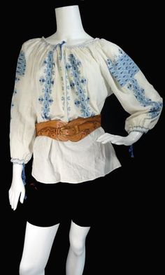 Embroidered Blouse, Vintage Dresses, 1970s, Vintage Ladies, High School, Inspire, Memories, Artists, My Style