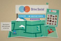 Drive Social. Rethink our roads as social spaces. Enter your daily journey to find out who is on the same roads at the same time. Teachers or families could use the website as a thought-provoking learning experience.
