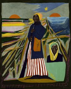 William H. Johnson, Harriet Tubman, ca. oil on paperboard, Smithsonian American Art Museum, Gift of the Harmon Foundation Harriet Tubman, African American Artist, American Artists, Museum Exhibition, Art Museum, William H Johnson, Henry Johnson, Harlem Renaissance Artists, Art Prints For Sale
